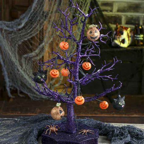 light up halloween tree spooky town light up halloween tree fall and halloween