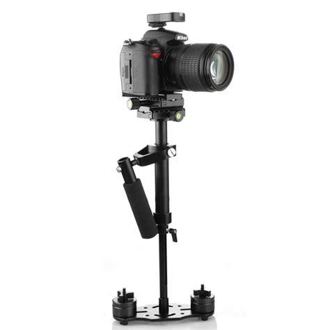 Steadycam Handheld Stabilizer Black s40 pro handheld stabilizer steadicam for camcorder