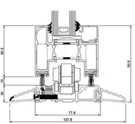 Georgian Floor Plan aluminium bi folds threshold options folding doors 2 u