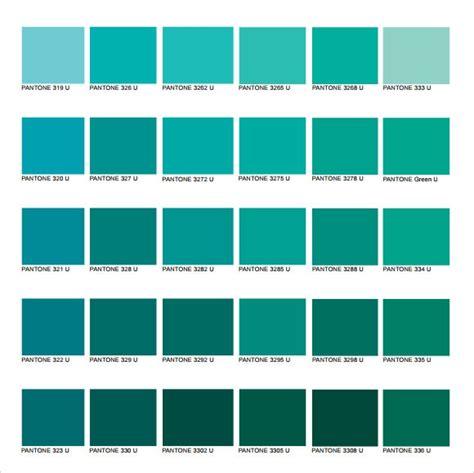 pantone color names pantone color chart 8 free for word pdf