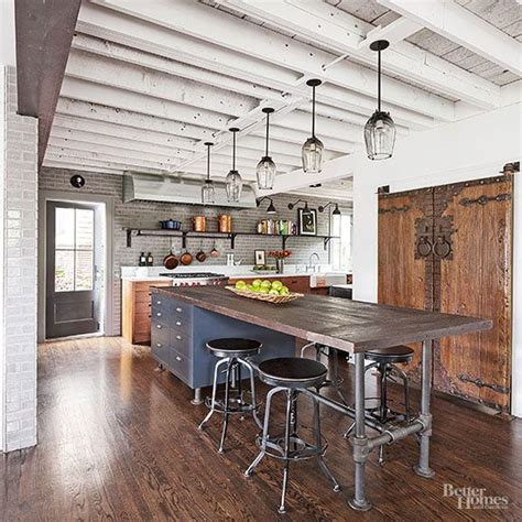 Industrial Style Kitchen Islands Best 25 Industrial Kitchen Island Ideas On Pinterest Kitchen Island Nyc Industrial Kitchens