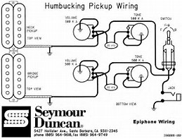 wiring diagram for epiphone les paul special free image