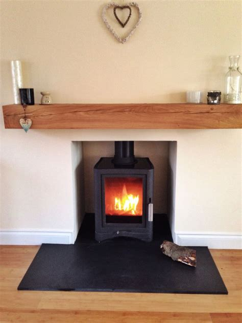 Slate Fireplace Hearth by The 25 Best Slate Hearth Ideas On Wood Burner