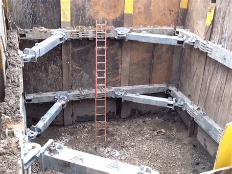 Box Beam Hydraulic Excavation Brace National Trench Safety