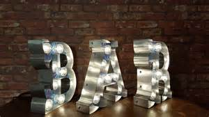 bar sign light marquee light up letters bar sign