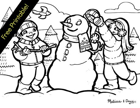 coloring pages for winter scenes winter scene coloring pages adult coloring pages winter
