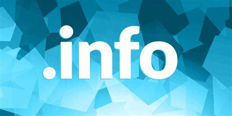 info domain registration   info domain