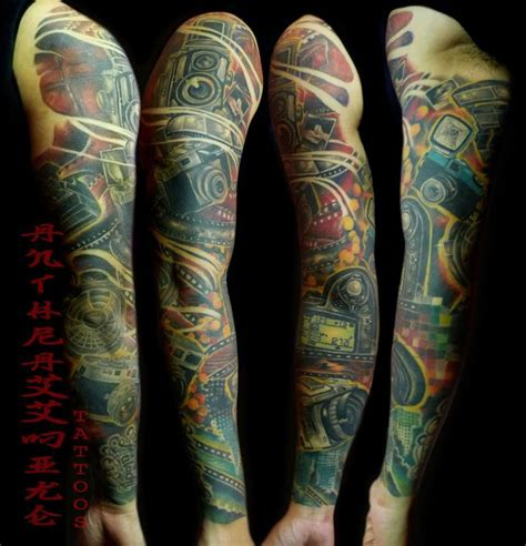 ink city tattoos check out this sleeve by anthraxx mike tattoos out of