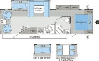 trailer floor plan jayco travel trailer floor plans cougar travel trailers
