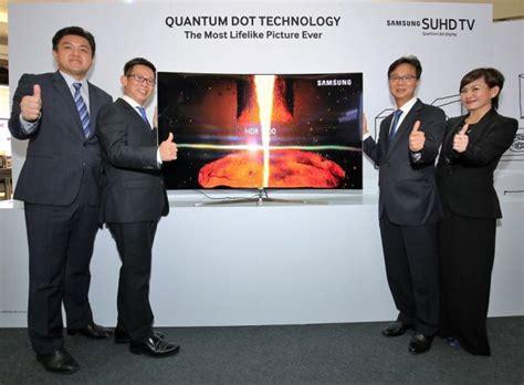 Harga Samsung Quantum Dot samsung melancarkan siri televisyen suhd 2016 di malaysia