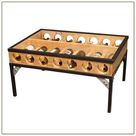 wine rack coffee table wine rack coffee table