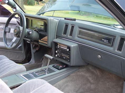 1985 Buick Regal Interior by A Peek Inside Buick Turbo Regals