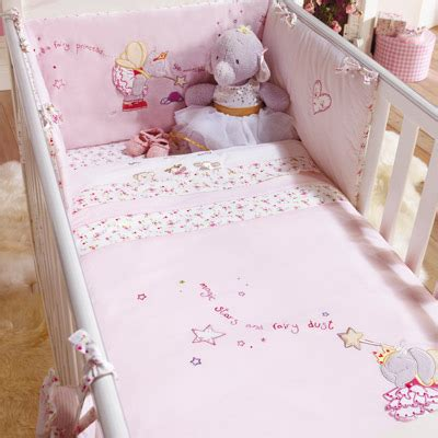 cot bed coverlet izziwotnot lottie fairy princess 5 piece coverlet bedding