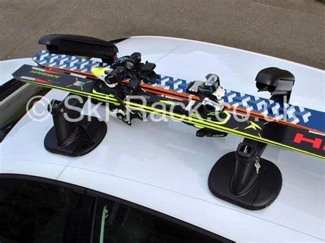 Car Ski Racks by Car Ski And Snowboard Rack No Roof Bars