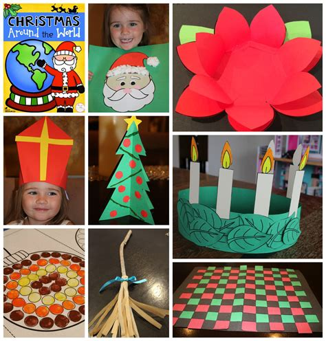 sweden christmas kids crafts around the world bundle activities australia and italy