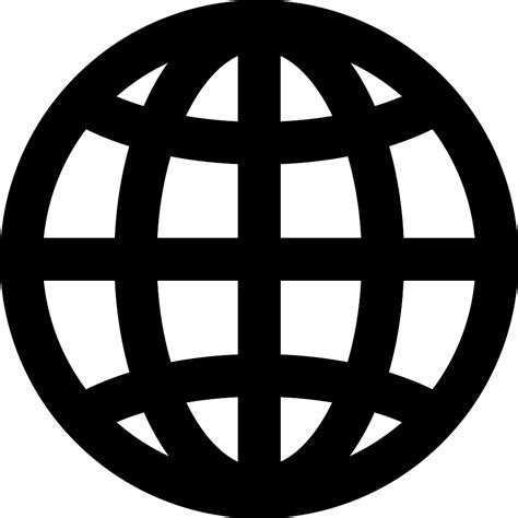 globe icons icons logos and tattoo global grid globe symbol free interface icons