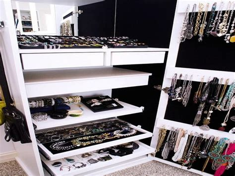 ideas design how to create closet jewelry organizer