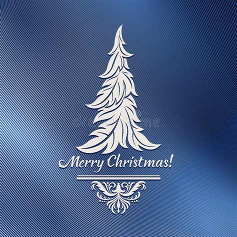 stilisierter weihnachtsbaum vektor abbildung