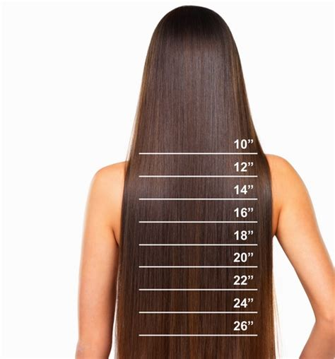 hair length after 30 16 inch full head remy human hair extensions weft ebay