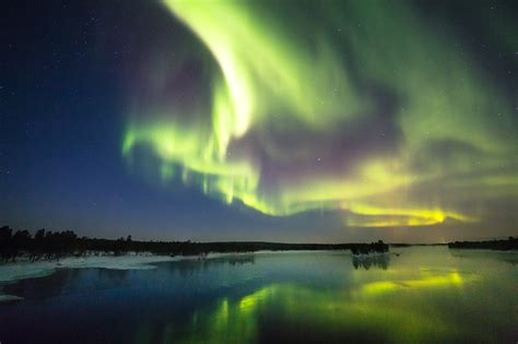 northern lights sun l see the northern lights in november finland tours