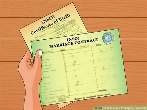 Nso Marriage Records List How To Get A Philippine Passport With Pictures Wikihow