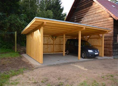 Carport Holz Kaufen by Carport Mit Holz Verkleiden Bvrao
