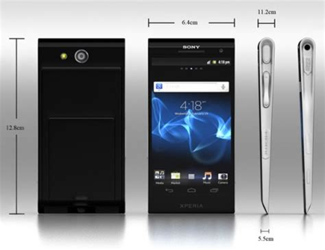 xperia design concept sony xperia x mockup inspired by the design of the xperia