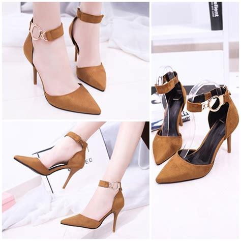 Heels Lincon Import 5 jual shh8183 yellow sepatu heels import cantik 7 5cm grosirimpor