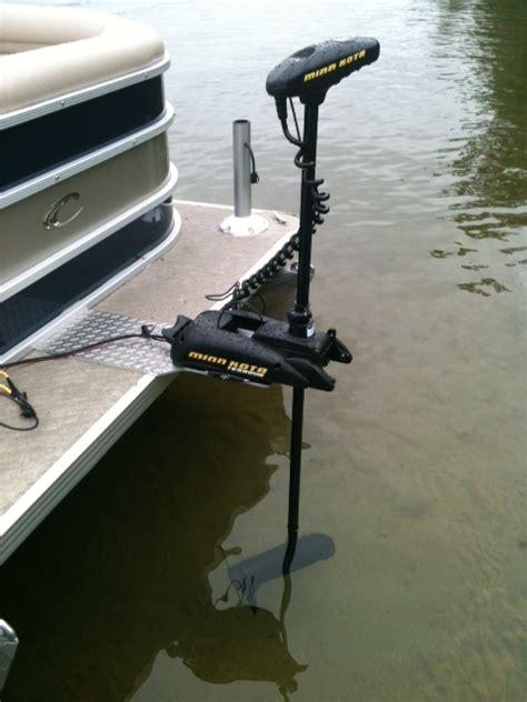 pontoon motor mount trolling motors