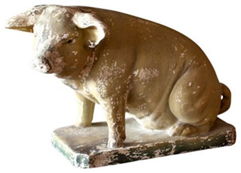 pig home decor decorative pig traditional home decor by bobo intriguing objects