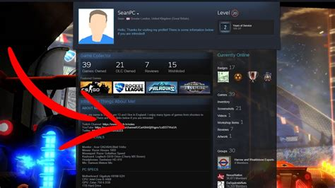 how to cool your how to make your steam profile look cool 2017