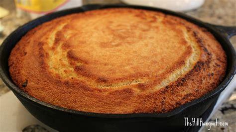 southern style skillet cornbread recipe dishmaps