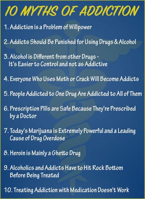 Detox Facts Myths ten of the addiction myths inspire malibu