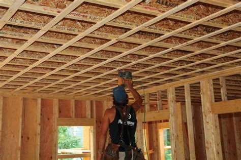 Strapping Ceiling For Drywall by Strapping Ceilings Jlc Framing Ceilings