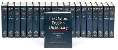 Words Now In The Oed by The Oed Is A