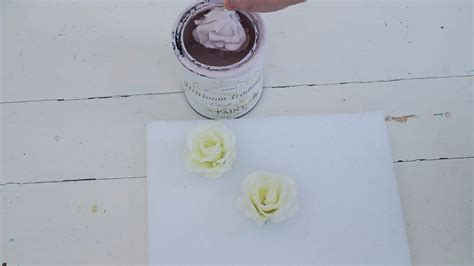 diy chalk paint heirloom traditions porcelain roses from chalk paint white lace cottage