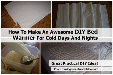 how to make bedroom warmer how to make an awesome diy bed warmer for cold days and nights