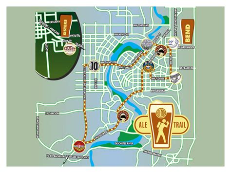 map of oregon breweries map of the ale trail in bend oregon recipes to try
