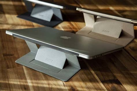 moft adhesive invisible laptop stand gadgetsin