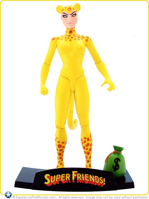 dc direct super friends deluxe action figure set  woman cheetah experiencethewondercom