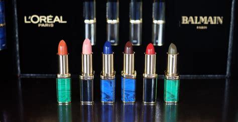 lipstick l oreal x balmain swatch dan review daily