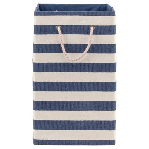 Buy Nautical Canvas Laundry Basket From Our Storage Nautical Laundry