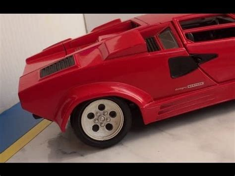 inscale tileicon 400 awt scale lamborghini countach lp 400 in scale 1 18 by polistil tonka