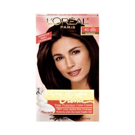 buy l oreal 174 excellence 174 cr 232 me protection hair color in 5 medium brown from bed loreal excellence protection permanent hair upc 071249033166 l oreal