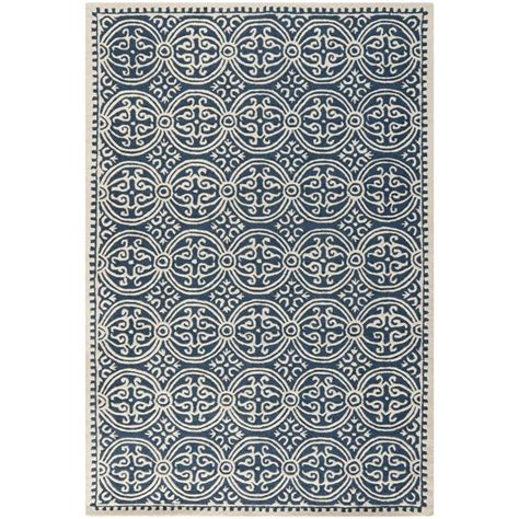 Handmade Moroccan Rugs - safavieh handmade moroccan cambridge navy blue wool rug
