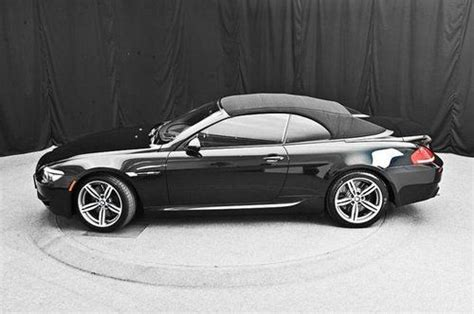2010 Bmw M6 Convertible by Find Used 2010 Bmw M6 Convertible Carbon Black Metallic