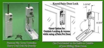 Patio Door Lock With Key Keyed Patio Door Lock