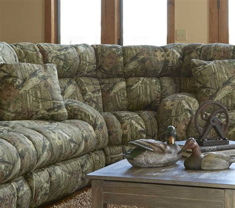 mossy oak sectional catnapper duck dynasty appalachian lay flat reclining