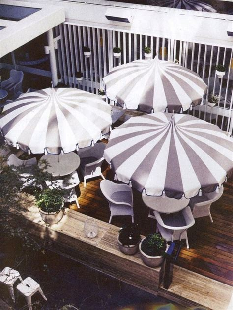 Black And White Patio Umbrella Beautifull Decorative Outdoor Umbrellas For Your Special Garden Interior Decoration
