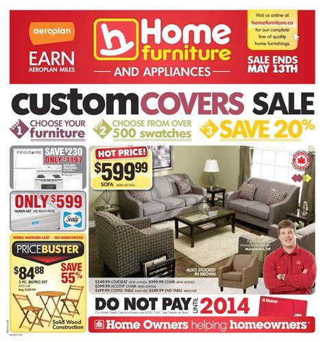 home furniture flyer may 2 to 13
